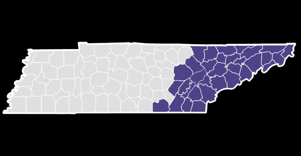 CCAHT service region purple